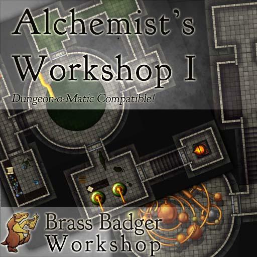 Dungeon-o-Matic III - Alchemist's Workshop