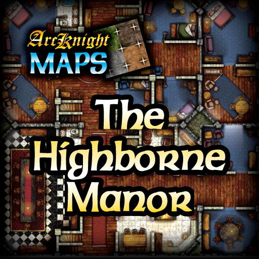 Arcknight Maps - Highborne Manor