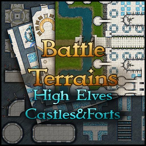 Battle Terrains High Elves Castles & Forts