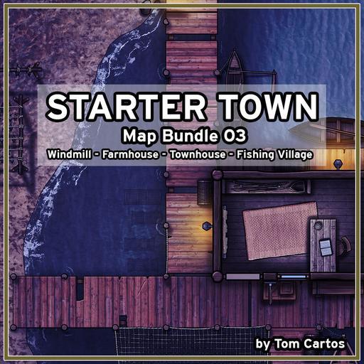 Starter Town Map Bundle 03