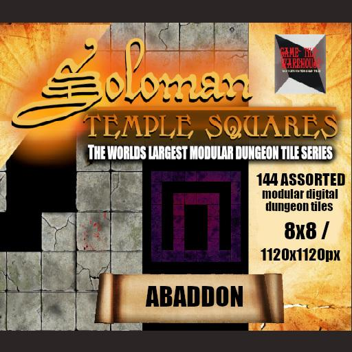 Soloman Temple Squares - ABADDON