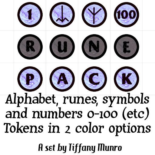 Granite and Marble Numbers 0-100, A-Z Alphabet, Runes and Symbols Markers