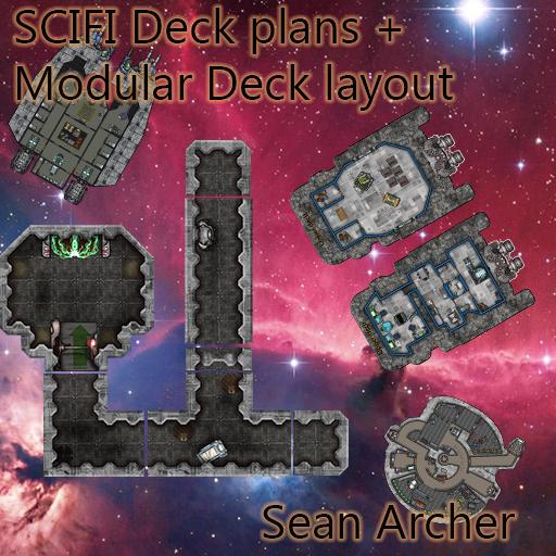 SCIFI Deck Plans and Modular Deck Layout