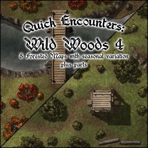 Quick Encounters: Wild Woods 4