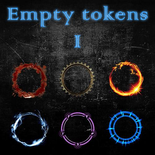 Empty Tokens Pack 1