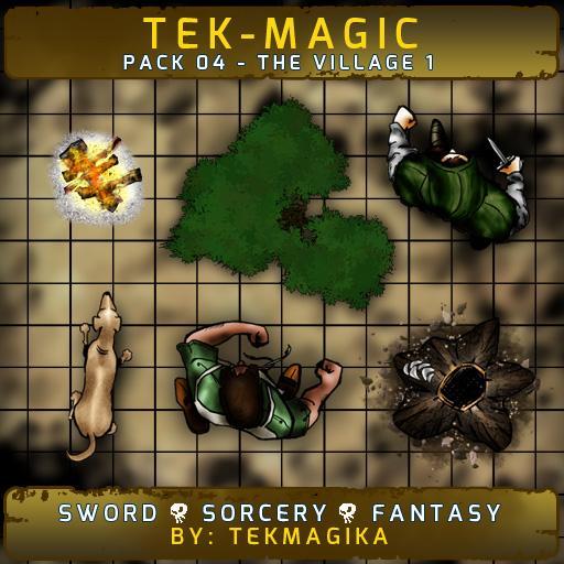 Tek-magic Pack 4 - The Village 1