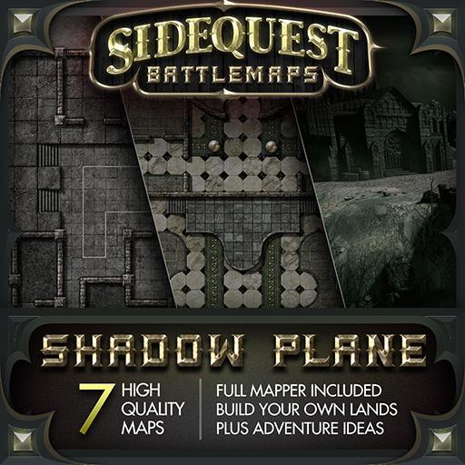 Sidequest Battlemaps: Shadow Plane