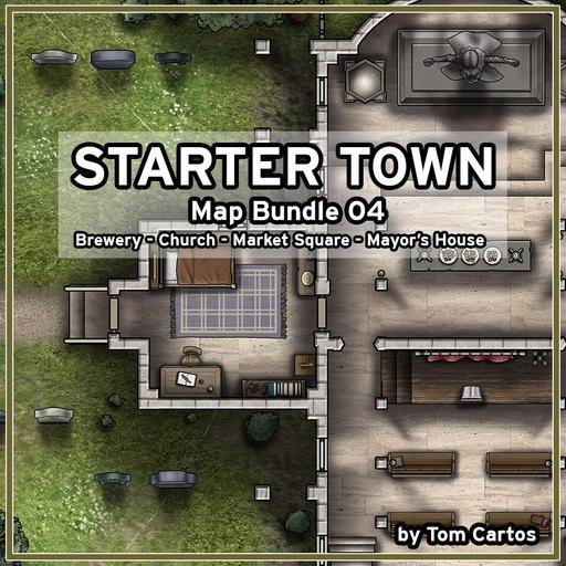 Starter Town Map Bundle 04