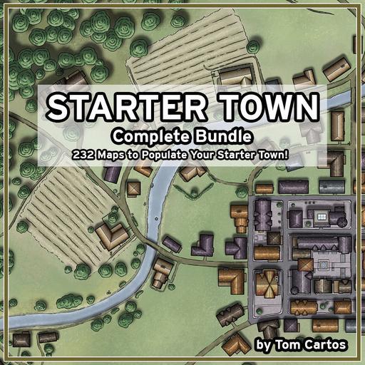 Starter Town Complete Bundle