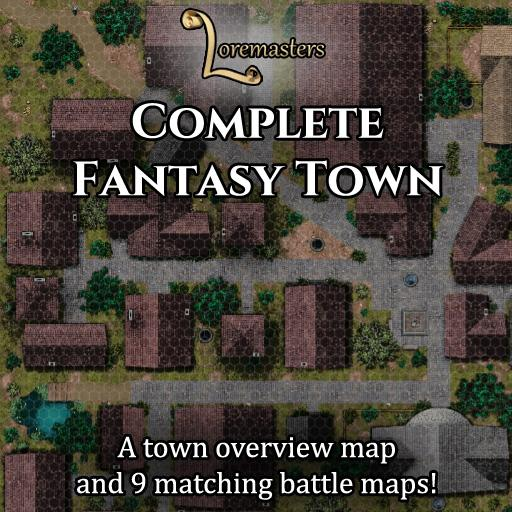 Complete Fantasy Town