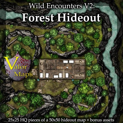 Wild Encounters V2: Forest Hideout