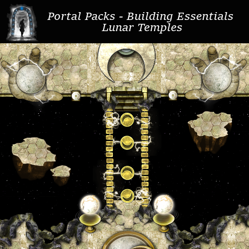 Portal Packs - Building Essentials -  Lunar Temples