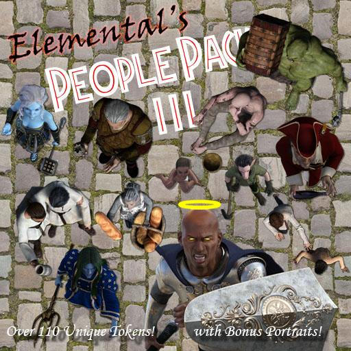 Elemental's People Pack 3