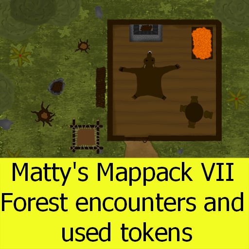 Matty's Mappack VII - Forest encounters and tokens