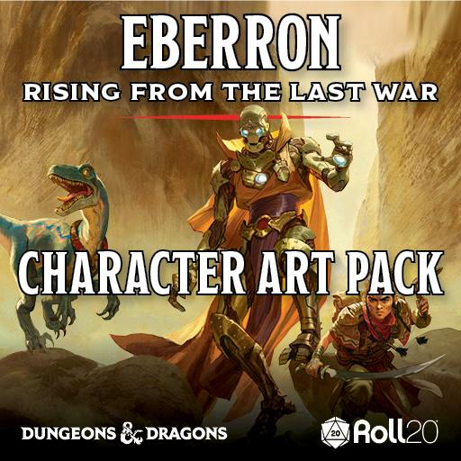 Eberron: Rising from the Last War Character Art Pack