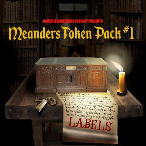 Meanders Token Pack 1 - LABELS