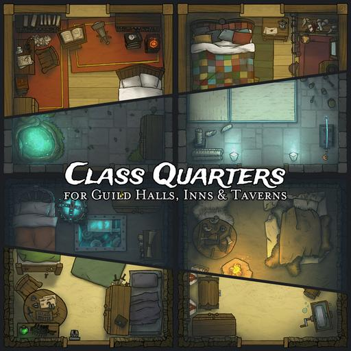 Class Quarters for Guild Halls, Inns & Taverns