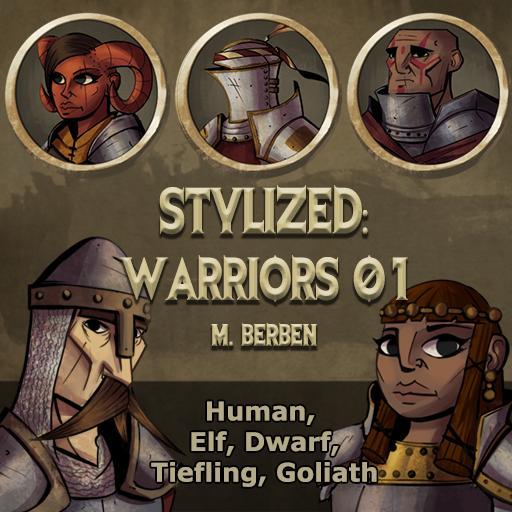 Stylized: Warriors 01