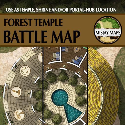 Temple and Portal Hub