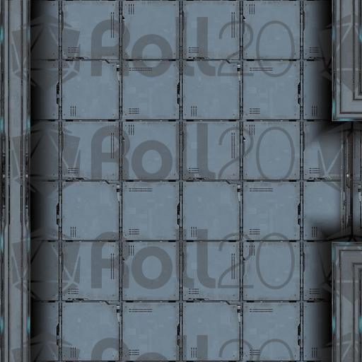 Sci Fi Floor Tiles In Scifi Tilestraightsmldoorsideclean Floor Tiles Roll20 Marketplace Digital Goods For Online