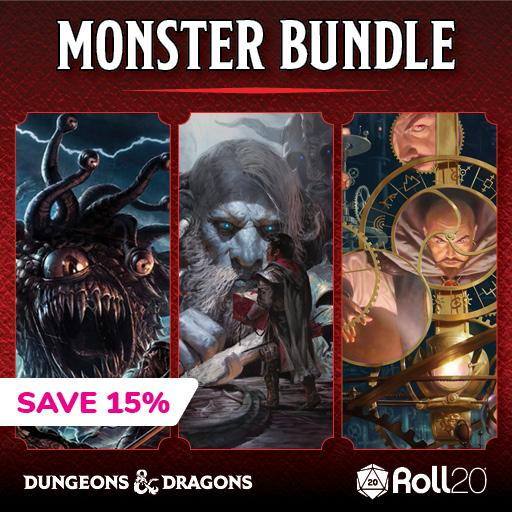 D&D Monster Bundle
