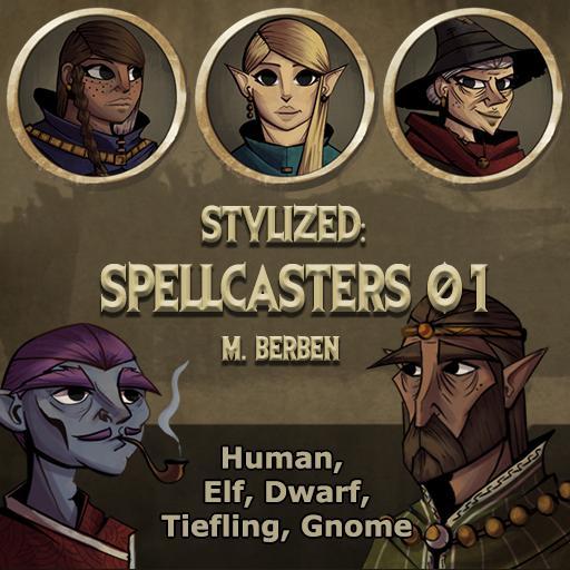 Stylized: Spellcasters 01