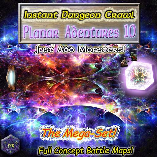Instant Dungeon Crawl: Planar Adventures 10