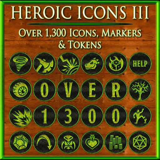 Heroic Icons 3