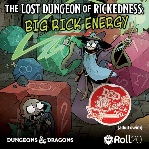 Rick and Morty: The Lost Dungeon of Rickedness: Big Rick Energy