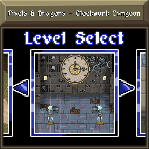 Pixels and Dragons - Clockwork Dungeon