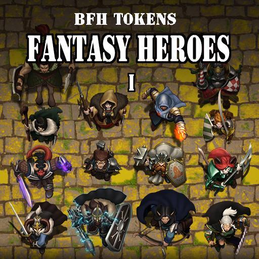 Fantasy Heroes Set 1