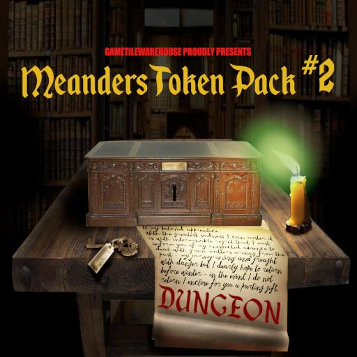 Meanders Token Pack 2 - DUNGEON I