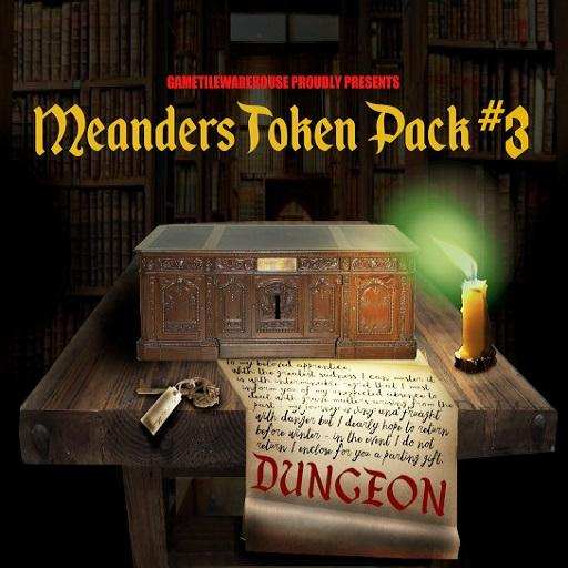 Meanders Token Pack 3 - DUNGEON II