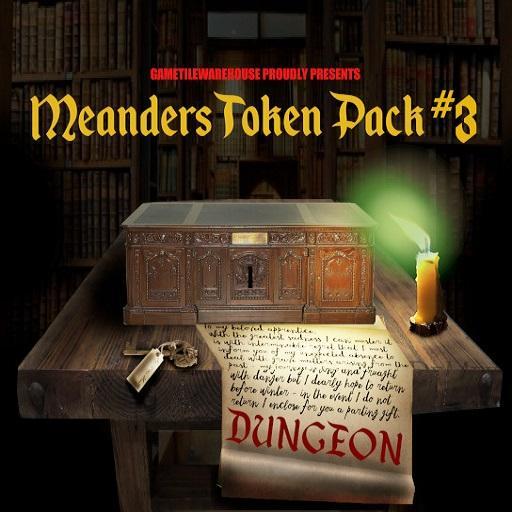 Meanders Token Pack 3 - DUNGEON II