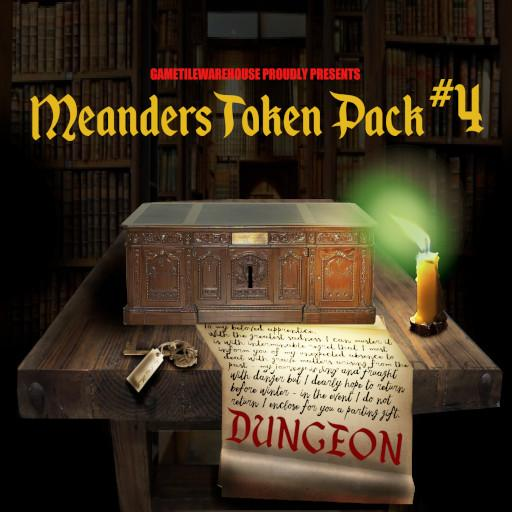 Meanders Token Pack 4 - DUNGEON III