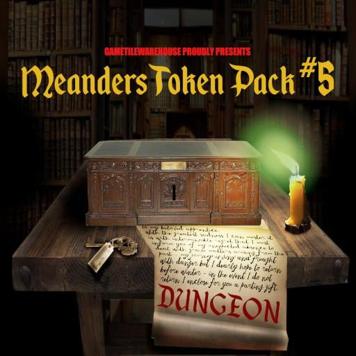 Meanders Token Pack 5 - DUNGEON IV