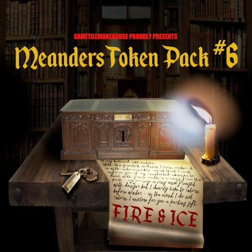 Meanders Token Pack 6 - FIRE AND ICE I