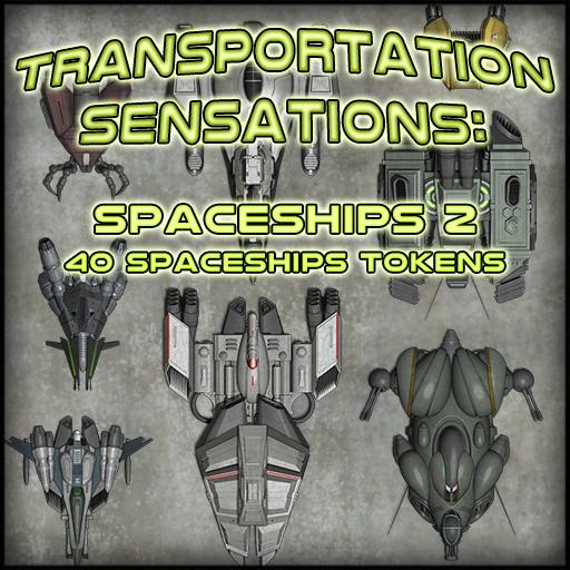 Transportation Sensations: Spaceships 2