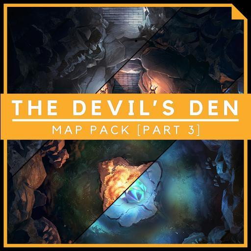 The Devil's Den [Part 3] - Battlemap