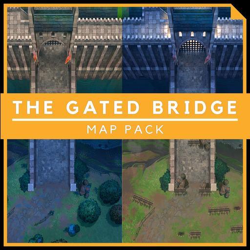 The Gated Bridge - Battlemap