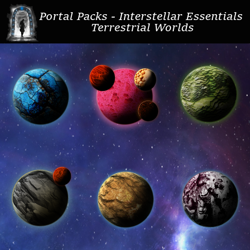 Portal Packs - Interstellar Essentials - Terrestrial Worlds
