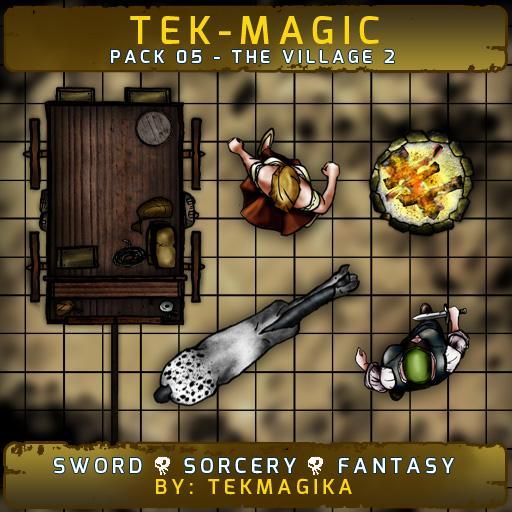 Tek-magic Pack 5 - The Village 2
