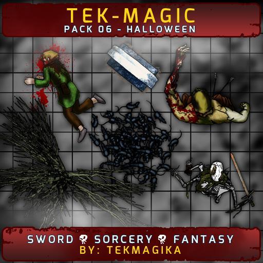 Tek-magic Pack 6 - Halloween