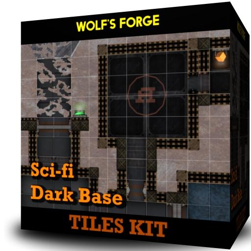 SciFi Dark Base - Tiles Kit