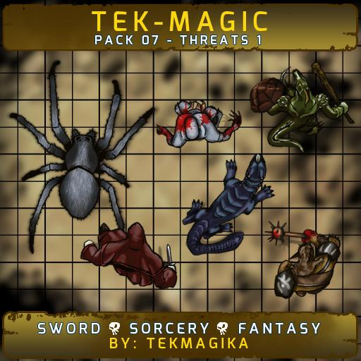 Tek-magic Pack 7 - Threats 1