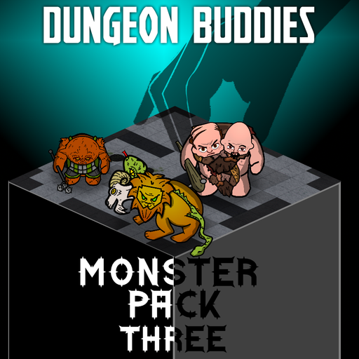 Dungeon Buddies Fantasy Tokens - Monster Pack Three