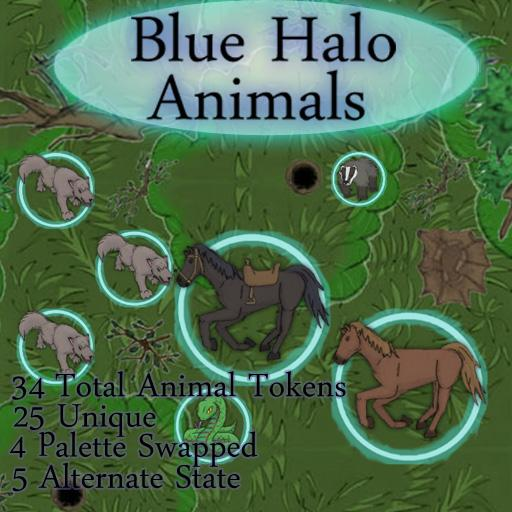 Blue Halo Animals