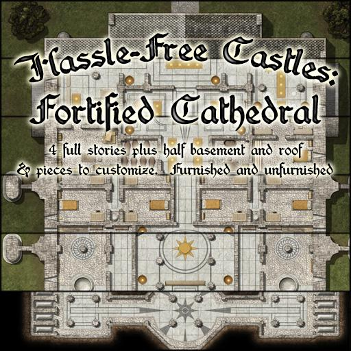 Hassle Free Castles: Fortified Cathedral