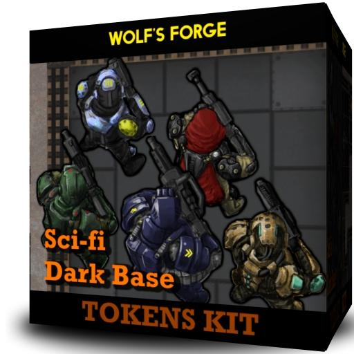 SciFi Dark Base - Tokens Kit