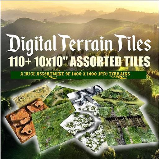 GTW Digital Terrain Tilepack